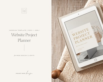 The Website Project Planner – Indesign Template