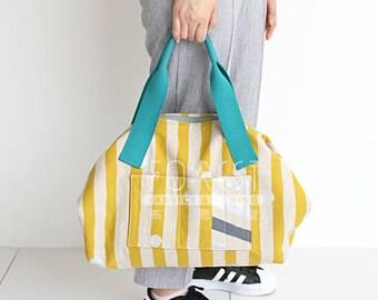 Paper Pattern | Echino boston bag Pattern