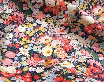 b0bdffa315 Liberty of London (Cotton Tana Lawn Fabric) - Thorpe Mustard - 50cm