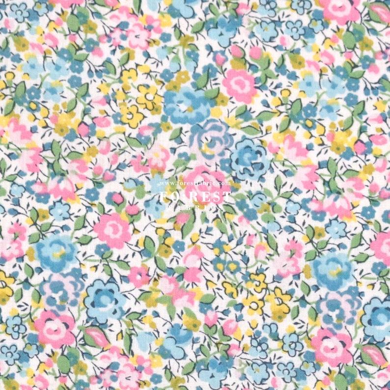 Liberty of London 50cm Cotton Tana Lawn Fabric - Emma and Georgina 40th