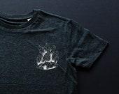 T-shirt crystals / boy /F...