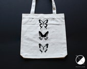 Butterfly tote bag / orga...