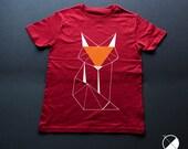 White Fox T-shirt / / gir...
