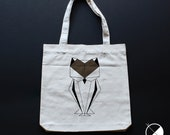 Tote Bag OWL / recycled T...