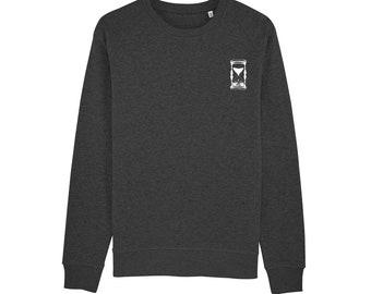 de24d8fdd0e92 Sweat-shirt Sablier   Coton bio   Encre Bio   Réalisé en France   Idée  Cadeau Original   Sable et Temps