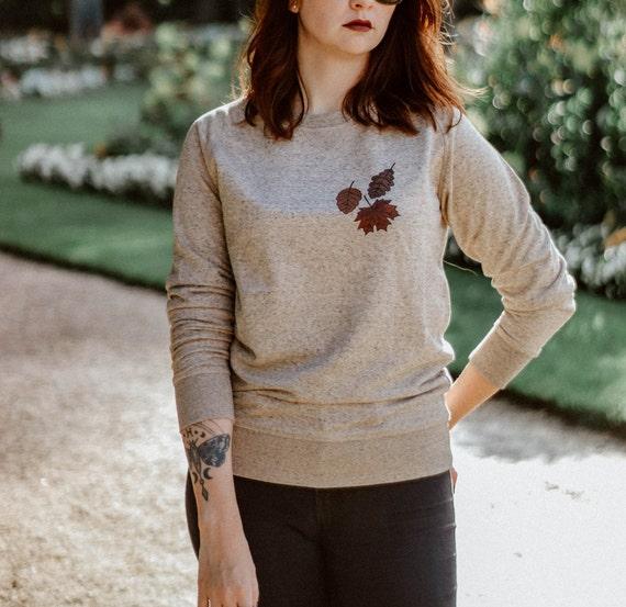 Sweat-Shirt Feuilles d'Automne