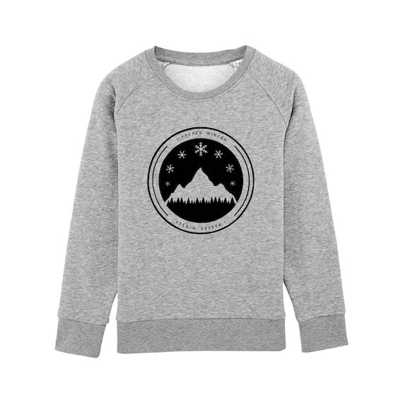 Sweat-shirt I Prefer Winter Enfant