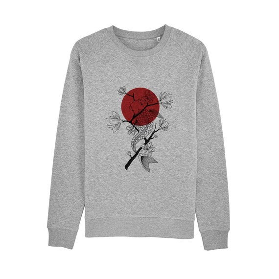 Sweat-shirt Carpe Koï