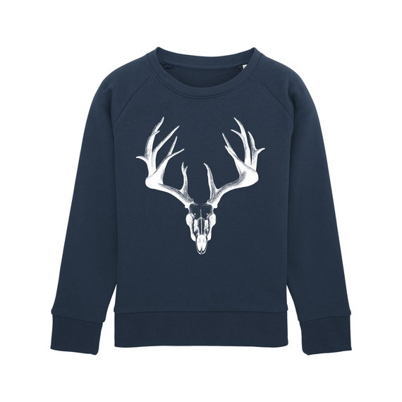 Sweat-shirt Crane de cerf Enfant