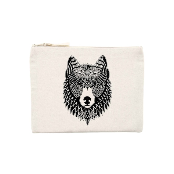 Pochette Tattoo Flash Loup