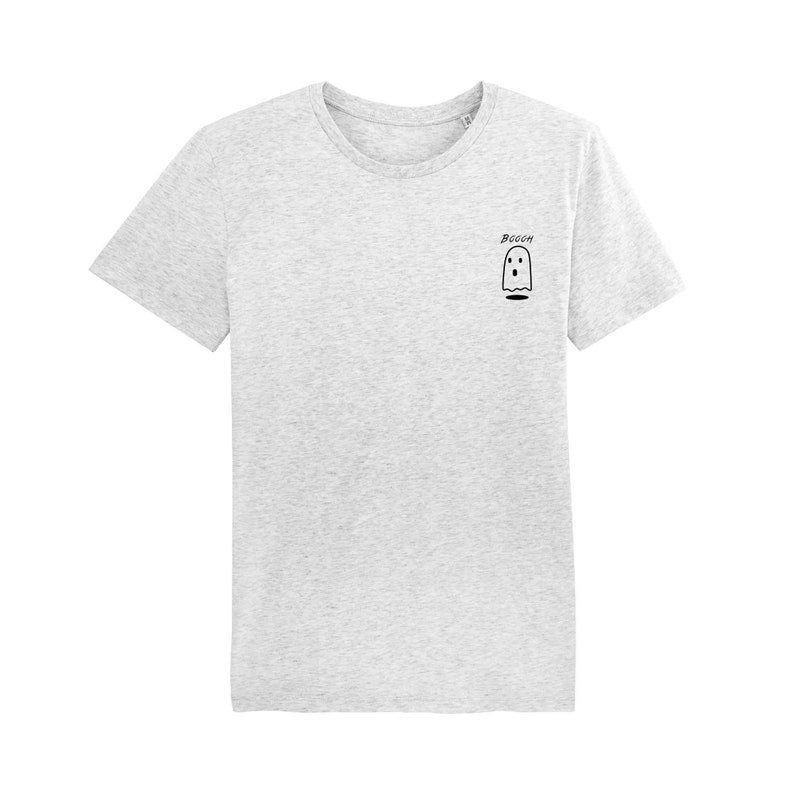 7eee3eb77aab Ghost T-shirt   organic   organic ink   made in France