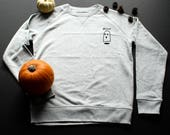 Ghost Sweatshirt / / man ...