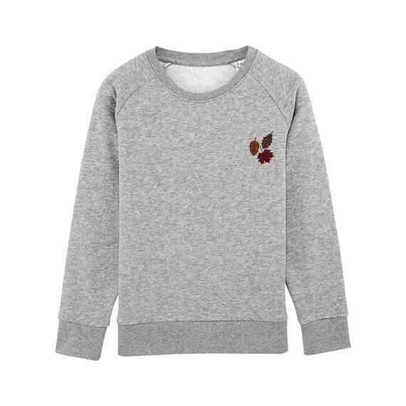 Sweat-shirt Feuilles d'Automne Enfant