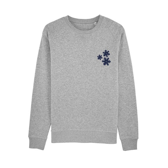 Sweat-shirt Flocons de neige