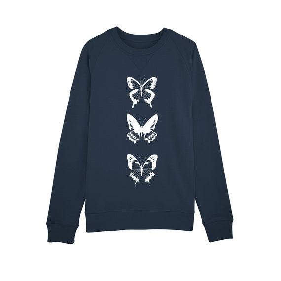 Sweat-shirt Papillons
