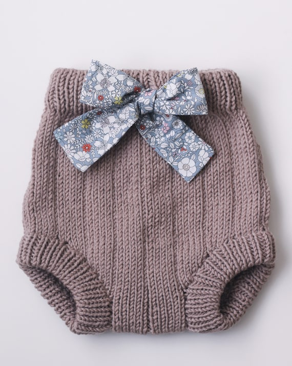 Baby Shorts PDF Knitting Pattern Bertie Bloomers Knitted ...