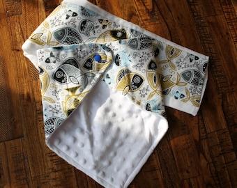 Bandana Bib and Burp Cloth Set