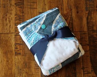 Bandana Bib and Burp Cloths Set