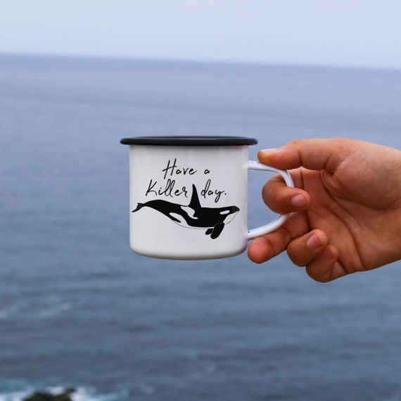 Orca Whale Gift Have A Killer Day Cute Christmas Etsy