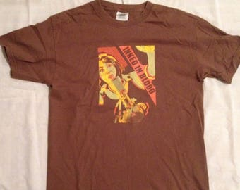 e9ddf566 Inked In Blood Vintage Hard Core Punk Band T-Shirt Rare Brown Medium Size