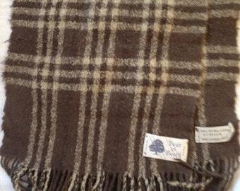 Vintage Bear   Beech Italian Wool Scarf 48