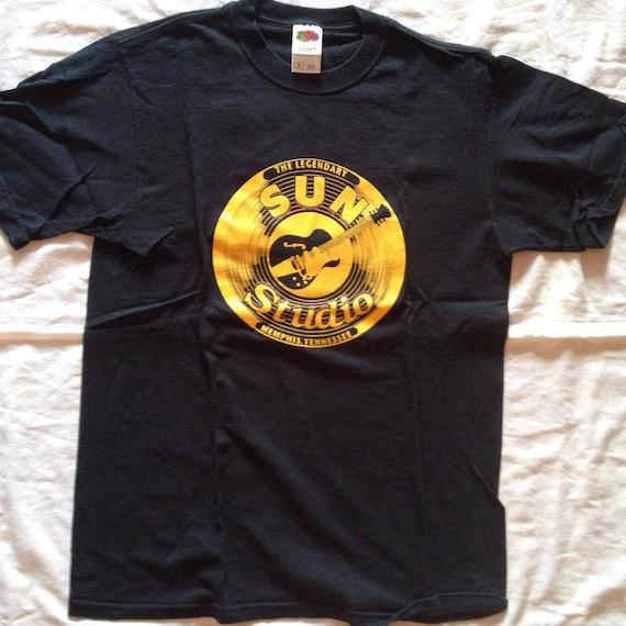 Sun Records Merchandise T-Shirt | Medium Sz | Blac