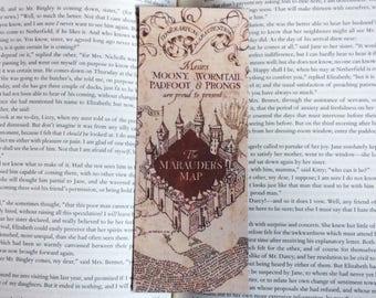 Marauder's Map Harry Potter Bookmark