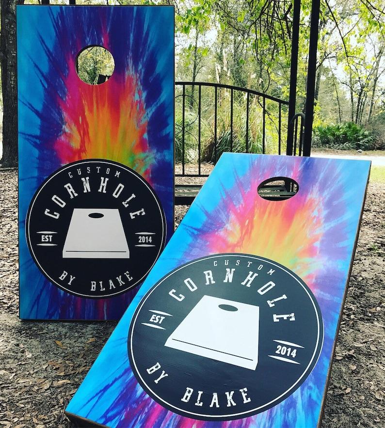 Custom Order Cornhole Set With Bags