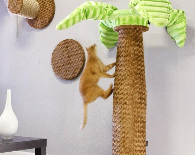 Caribbean Palms - The most ergonomical cat tree ever, by Urban Feline
