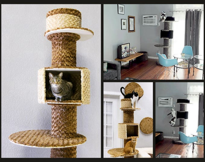 Modular Floor Condos - The ultimate cat towers, by Urban Feline