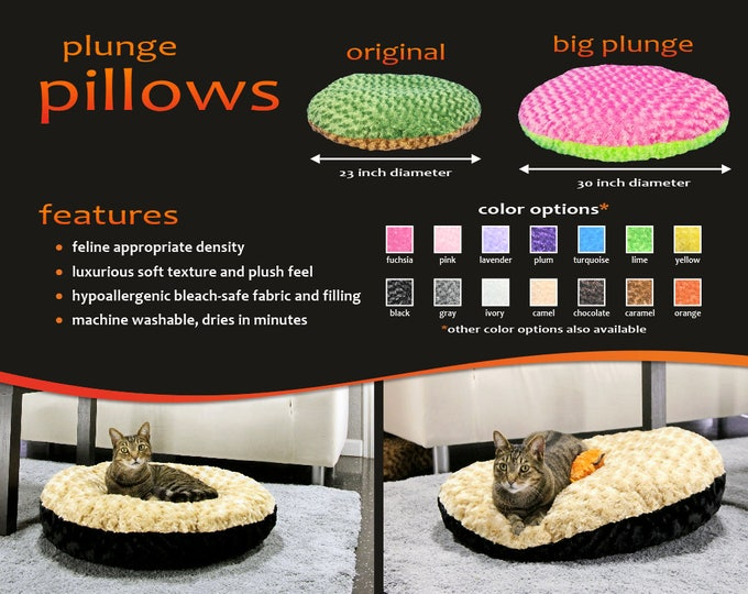 PlungePillow Cat Bed