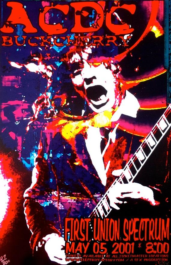 0301 Vintage Music Poster Art Joan Jett /& The Blackhearts