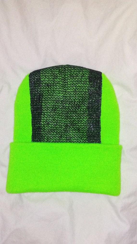 3fc35e06b1f Head Spin Beanie Neon Miami Green