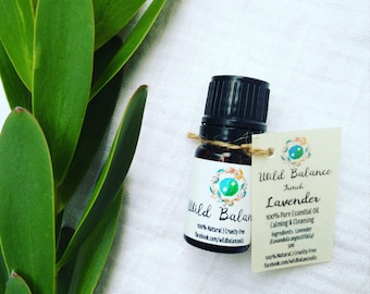 Lavender Oil - French Alpine (100% Pure Therapeutic Grade Essential Oil)