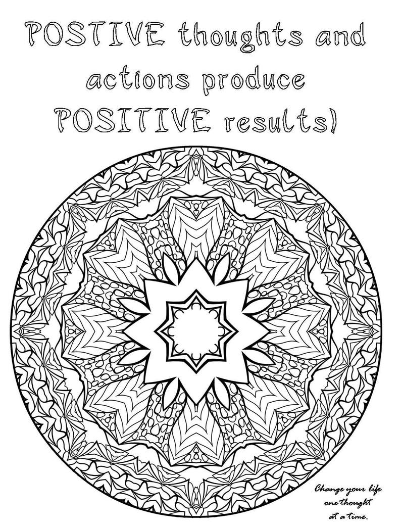Law Of Attraction Adult Coloring Pages Adult Coloring Book Abundance Positive Affirmations And Quotes Success Quotes Keys To Success