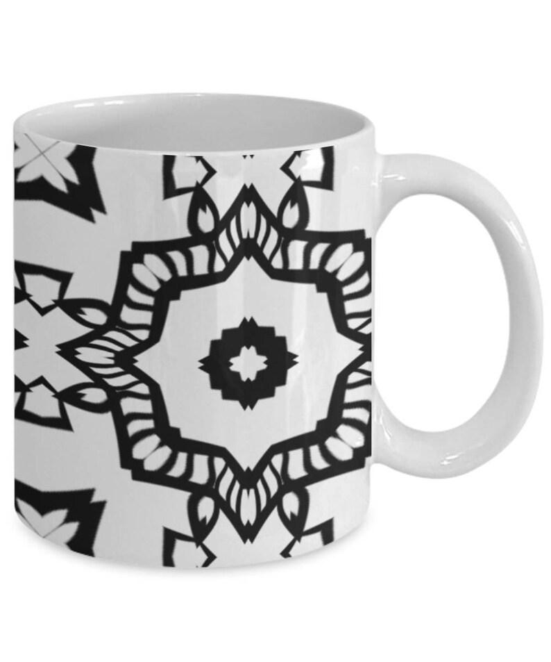Taza De Mandala Adulto Para Colorear Taza De Café Color Me Taza De Café Zentangle Mandala Con Motivos Color Su Propia Taza De Café 54