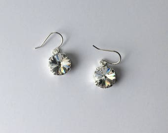 Handmade Earrings - Made with Swarovski Crystal