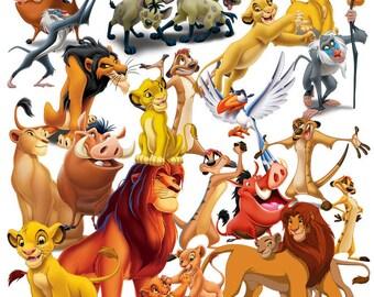 Le roi lion et Lion garde clipart