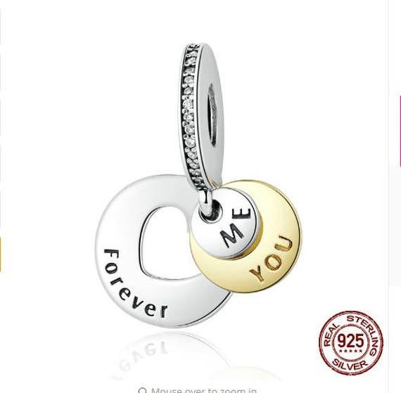Vidrio Color plata encanto grano ajuste europeo 925 Serpiente Cadena por 1st Clase 10 un