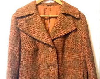 1970'S Ladies Wool Mix Coat