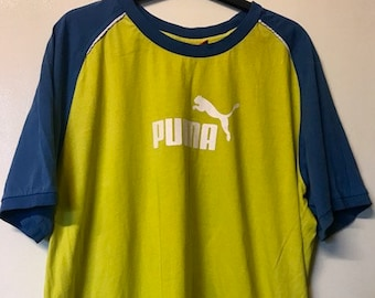 90's 2 Tone Puma T-Shirt