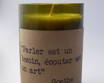 CANDLE SOY Goethe