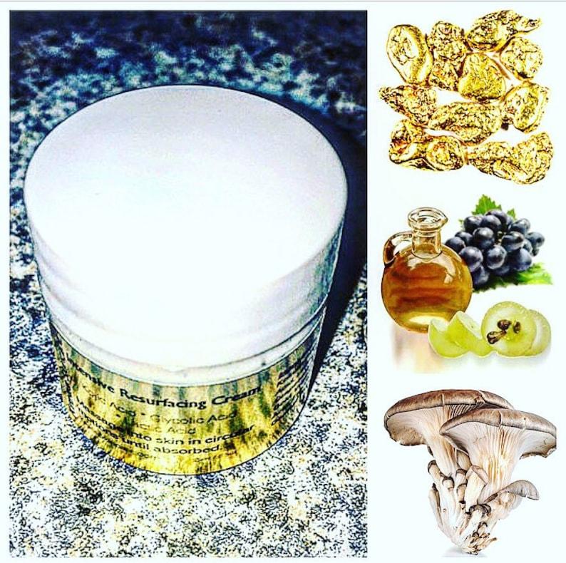 5% Glycolic Acid Cream - Krees Skincare Intensive Resurfacing Cream - Acne  Hyperpigmentation Peel - Razor Bump Cyst Cream - Hair Bump Cream