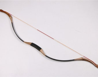 53802c9a5d45 Wooden Recurve Bow for Medieval Traditional Archery Longbow Target Archery  or Hunting Archery Horse Outdoor Games Hunger Games