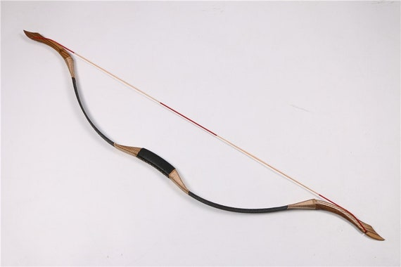 30 50lbs Archery Traditional Recurve Bow Pure Handmade Longbow Etsy
