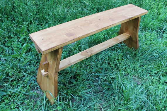 Amazing Medieval Bench Made With Interlocking Wood Furniture For Middle Age Historical Camp Furniture Complement For Rustic Country House Machost Co Dining Chair Design Ideas Machostcouk