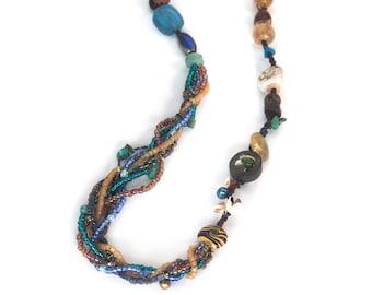 necklace TONI deep ocean
