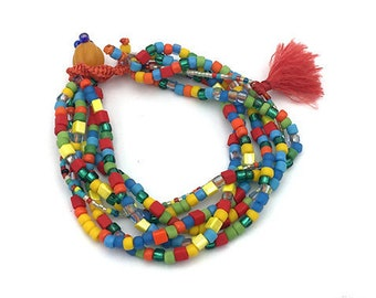 bracelet SELINA carnival TASSEL braided