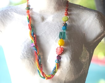 necklace TONI carnival