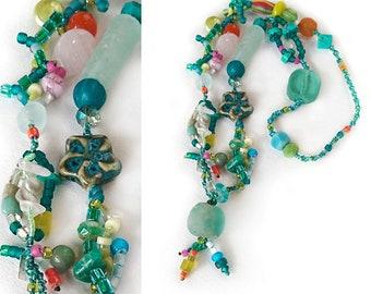 necklace CHANTAL seafoam